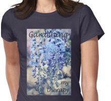 Wisteria Dreams at Twilight Womens Fitted T-Shirt
