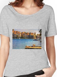 Korcula Harbour Women's Relaxed Fit T-Shirt