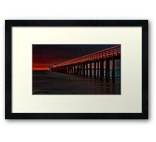 """""""Lonsdale Red"""" Framed Print"""