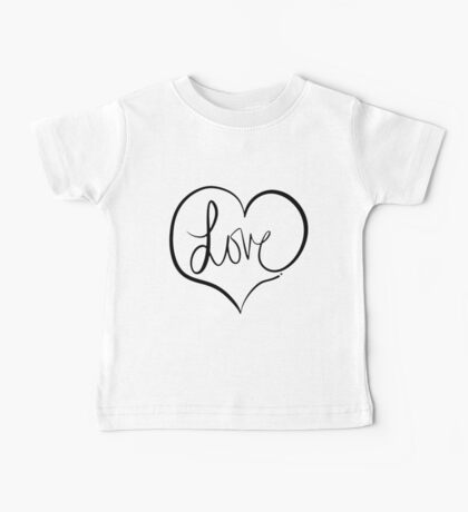 Love Forever Baby Tee