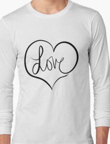 Love Forever Long Sleeve T-Shirt