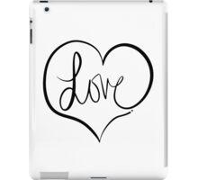 Love Forever iPad Case/Skin