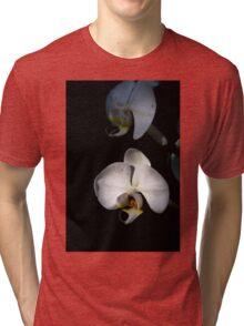 White orchids Tri-blend T-Shirt