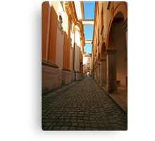 Long Hall of Melk Abbey in Austria Canvas Print