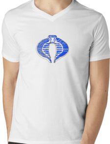 Cobra ice logo Mens V-Neck T-Shirt