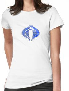 Cobra ice logo Womens Fitted T-Shirt