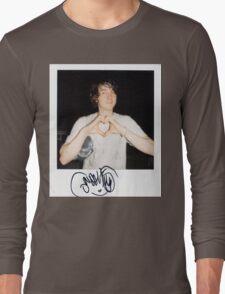 Noah Lennox Polaroid Long Sleeve T-Shirt
