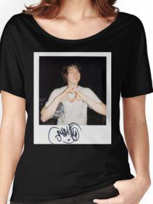 Noah Lennox Polaroid Women's Relaxed Fit T-Shirt