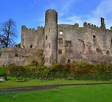 Laugharne Castle by Paula J James