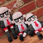 New Mr Baxter Plush Toys by Lily McDonnell