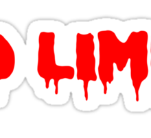 No Limit Sticker