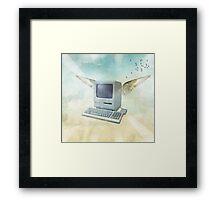 flying mac Framed Print