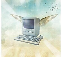 flying mac Photographic Print