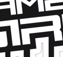 Gamer Girl Stamp Sticker