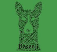 Basenji -Word Cloud by rjzinger