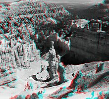 Bryce Canyon - Thor's Hammer 3D by Daniel Owens