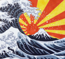 Great Wave Sticker