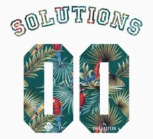 99 problems? 00 solutions! *Parrot Floral* by Chigadeteru