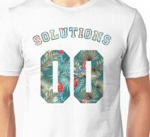 99 problems? 00 solutions! *Parrot Floral* Unisex T-Shirt