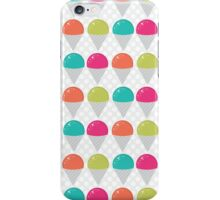 Colorful Snowcones iPhone Case/Skin