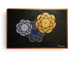 Steeling Flowers Canvas Print