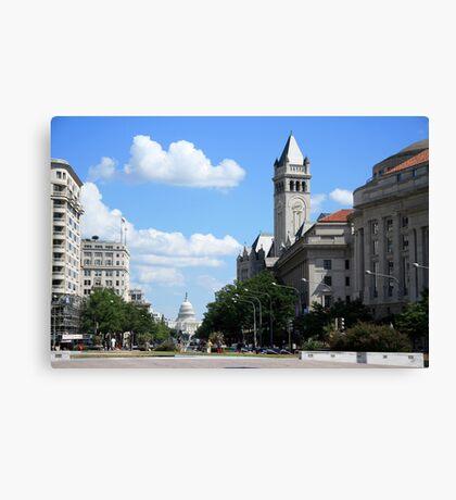 Downtown Washington Canvas Print