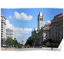 Downtown Washington Poster