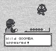Wild GOOMBA appeared! by SaMtRoNiKa