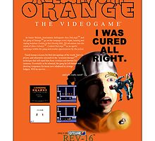 'A Clockwork Orange: The Videogame' Vintage Game Advert by BytewareShop