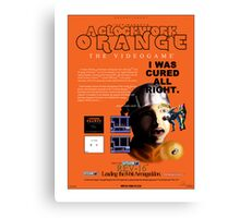 'A Clockwork Orange: The Videogame' Vintage Game Advert Canvas Print