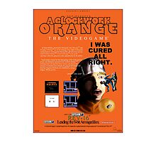 'A Clockwork Orange: The Videogame' Vintage Game Advert Photographic Print