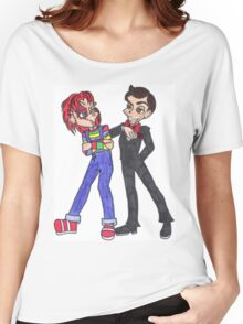 Chucky and Slappy Women's Relaxed Fit T-Shirt