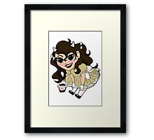 Chibi Capricorn Framed Print