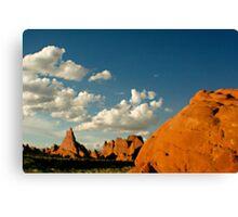 Desert Landscape Southern Utah Canvas Print