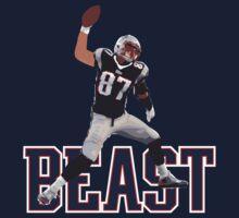 "Rob Gronkowski #87 ""The Beast"" by emrdesigns"
