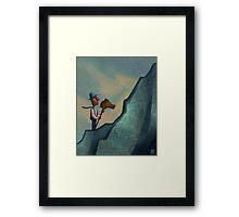 The Big Challenge Framed Print