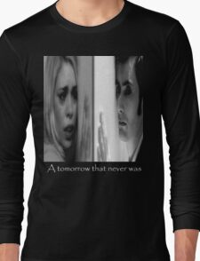Rose Tyler and doctor Who Long Sleeve T-Shirt