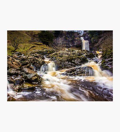 Thornton Force - Ingleton Waterfall Trail Photographic Print