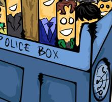 Doctor who cigarette Sticker