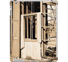 Tearing down walls. iPad Case/Skin