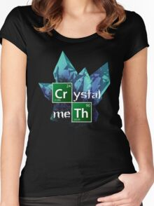 Crystal Meth Women's Fitted Scoop T-Shirt