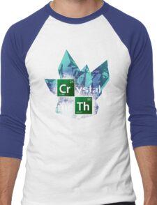 Crystal Meth Men's Baseball ¾ T-Shirt