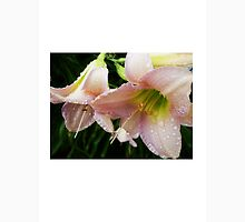 wet pink day lilies Unisex T-Shirt