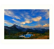 Elfin Lakes, Garibaldi Provincial Park, BC Art Print