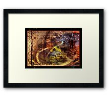 The Spy Framed Print