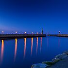 Whitby Harbour by Tony Shaw