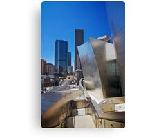 LA Walt Disney Theatre Canvas Print