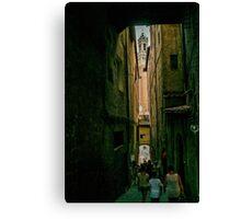 Siena passage Canvas Print