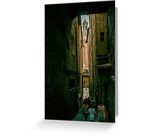 Siena passage Greeting Card