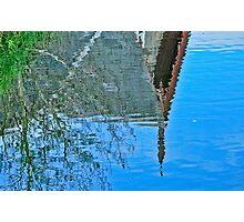 Fuzzy Reflection Photographic Print